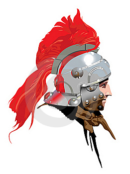 Roman Soldier (Centurion) Illustration 2