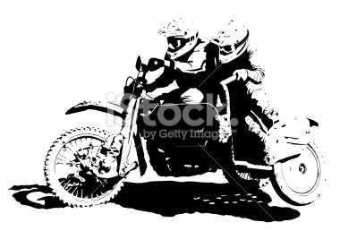 Sidecarcross Illustration